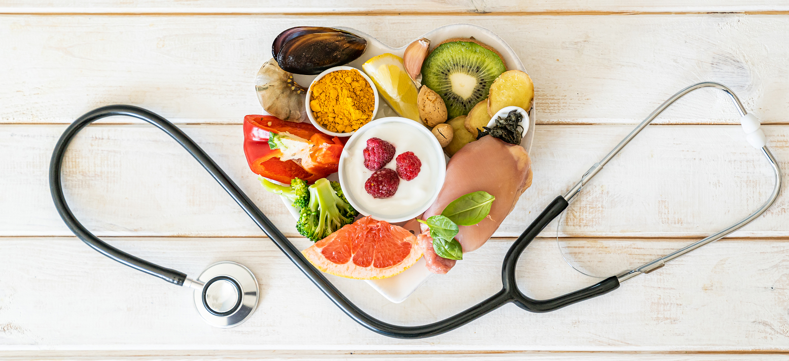 Selection of foods to boost immune system