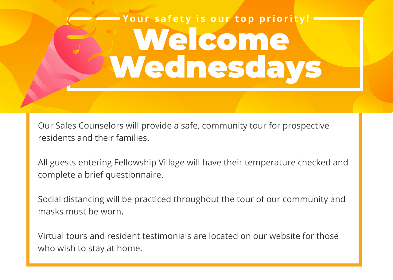 Welcome Wednesdays are back